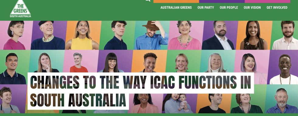 ICAC Statement from the Greens